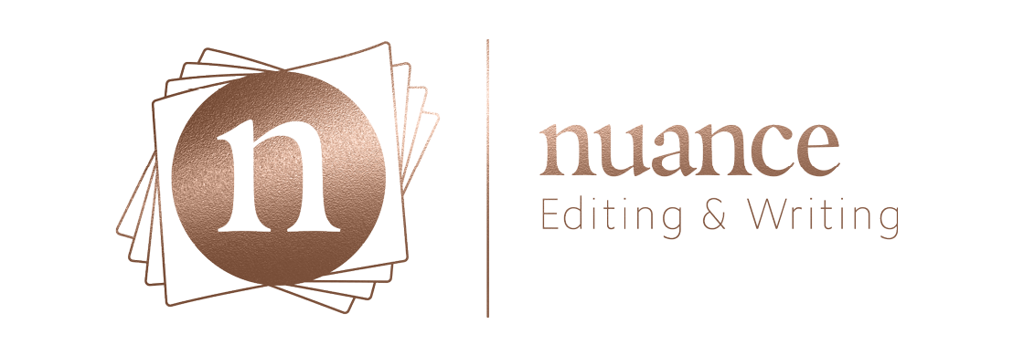 nuance editing and writing